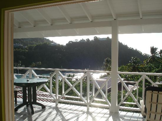 Oasis Marigot: View from the SeaHouse