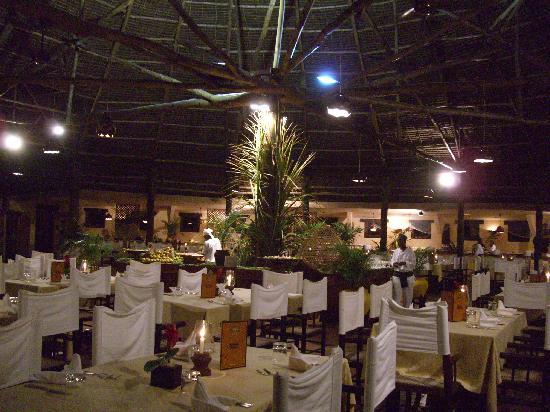 Dongwe Club: ristorante centrale