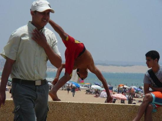 Agadir Beach: Boys will be boys