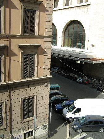 Valentini Bed and Breakfast: View from window, Termini