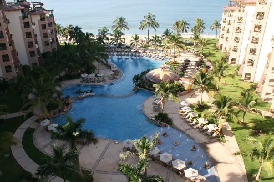 Villa La Estancia Beach Resort & Spa Riviera Nayarit: View from our balcony - Room 2803a.
