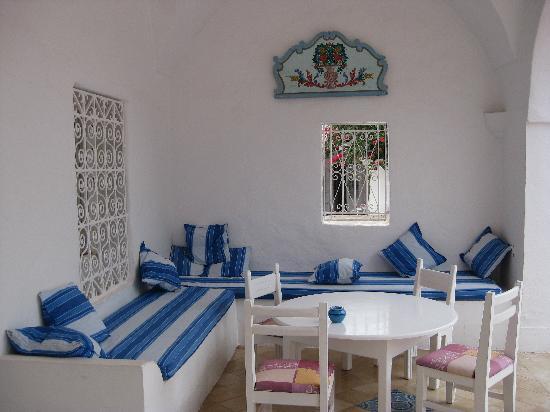 Residence Dar Sidi : Patio - dinner spot