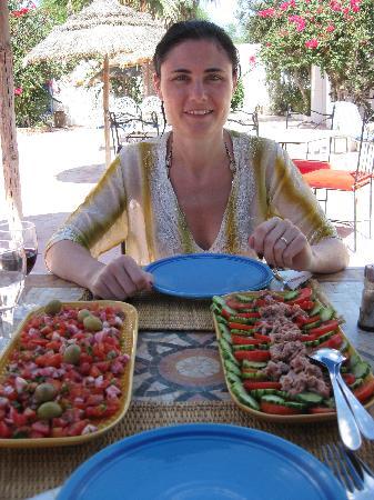Residence Dar Sidi : the great lunch salads