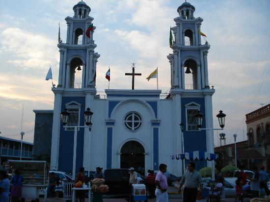 Comalcalco, Mexique : Plaza Benito Juarez