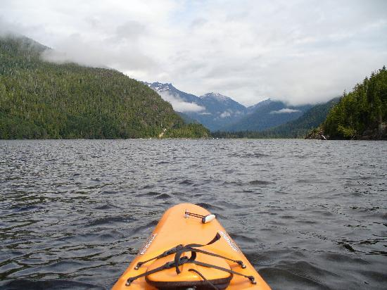 Clayoquot Wilderness Resort: From my Kayak