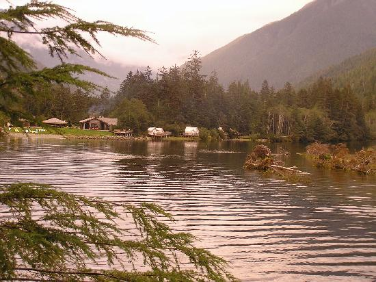 Clayoquot Wilderness Resort: The main camp
