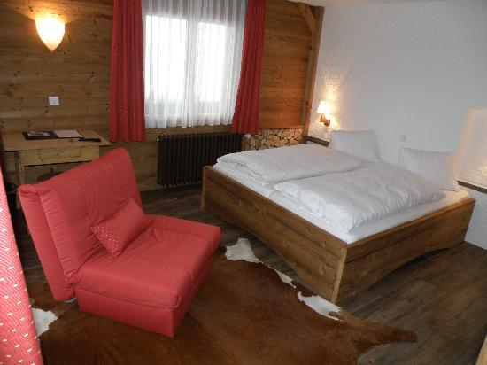 Arosa Vetter Hotel : Unser Zimmer (neu renoviert)