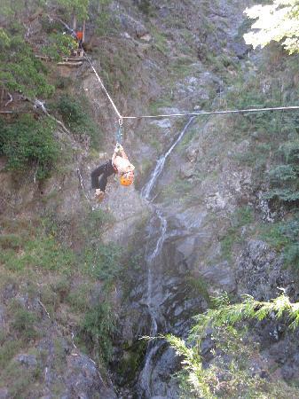 Estancia Peuma Hue : ropes course (a bit of adrenaline)