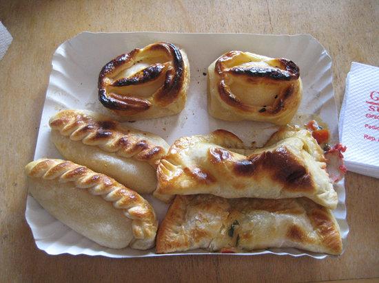 Guimpi V: An assortment of empanadas