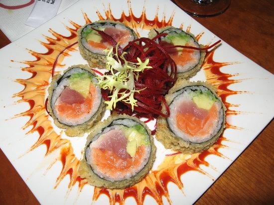 Osaka Sushi: Starburst sushi plate