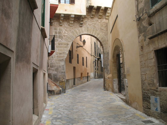 Palma de Mallorca, Spain: Streets of Palma' old town