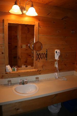 Hotel Sacacomie: salle de bain