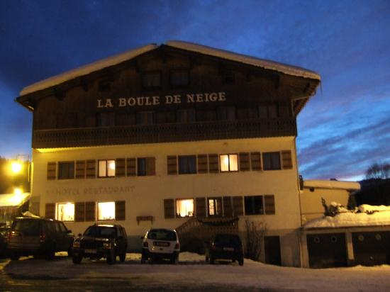 Les Gets, Fransa: By night