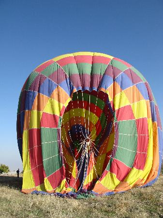 Amazing rock formations - Goreme Ballon Ride - Picture of ...