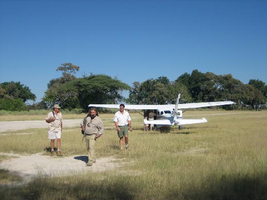 Gunn's Camp: Airstrip at Gunns