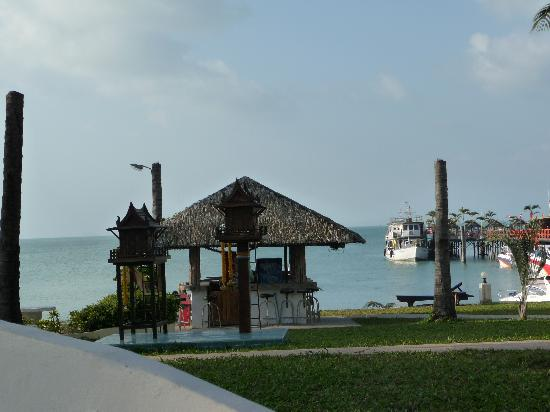 Samui Pier Resort: View from our bungalow