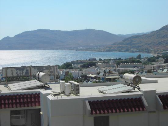 Pefkos Greece View From Lia Studios