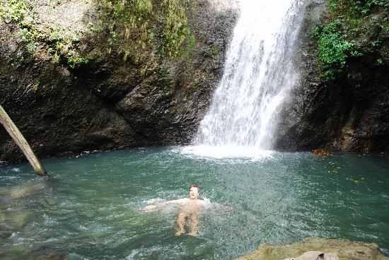 Rumboat Retreat: A waterfall swim after our hike with Gary