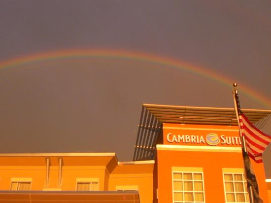 Cambria hotel & suites Raleigh-Durham Airport: The real pot of gold at the end of the rainbow