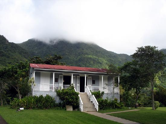 Jayuya, Puerto Rico: Casa Blanca is a neat little tour for $1.