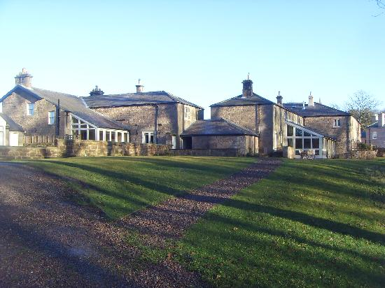 Doxford Cottages: View of behind the cottages