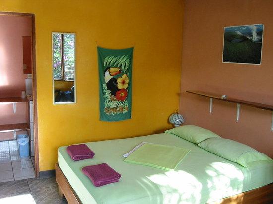 Die schönen frabenfrohen und sauberen Zimmer im Los Alemanes