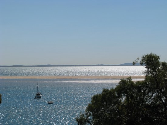 Seventeen Seventy, Australië: The view from our beach shack