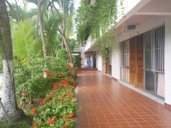 Villas Paraiso: afuera de las habitaciones