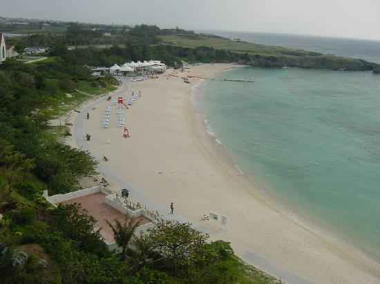 Hotel Nikko Alivila Yomitan Resort Okinawa: ベランダから