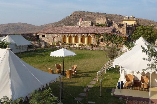 Karauli, India: Inside the fort