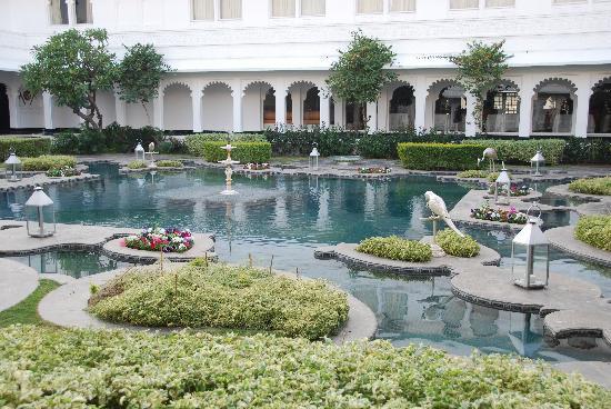 Taj Lake Palace Udaipur: The Lily Pond