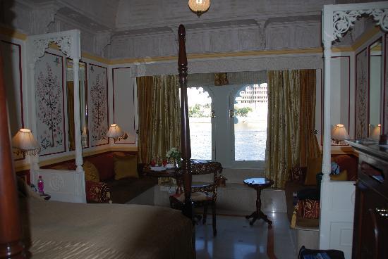 Taj Lake Palace Udaipur: Our room