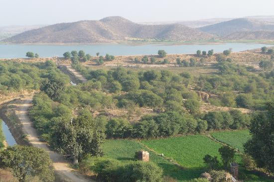 Karauli, India: View from the battlements