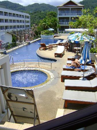 Karon Princess Hotel : Top pool