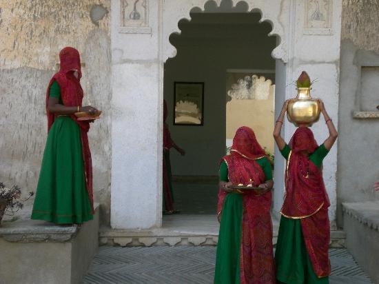 Sardargarh Heritage Hotel : The welcome
