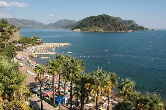 Icmeler, Turkey: View from our Hotel
