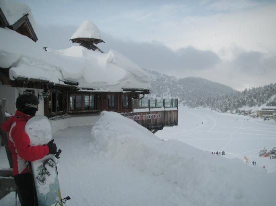 Sundance Grande Mountain Resort & Spa: meterhoch schnee