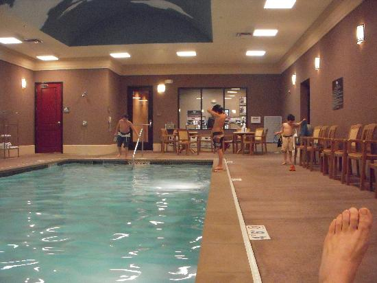 hotel pool picture of homewood suites by hilton. Black Bedroom Furniture Sets. Home Design Ideas