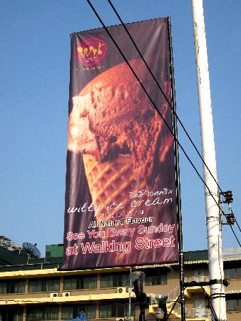 Witty Ice Cream : New Sign
