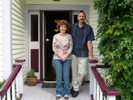 Holly Homestead B&B: the best hosts!