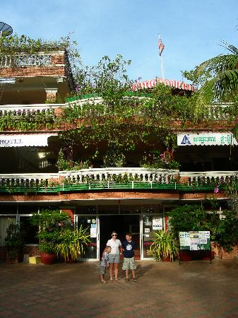 Entrance to the Jasmine Hotel
