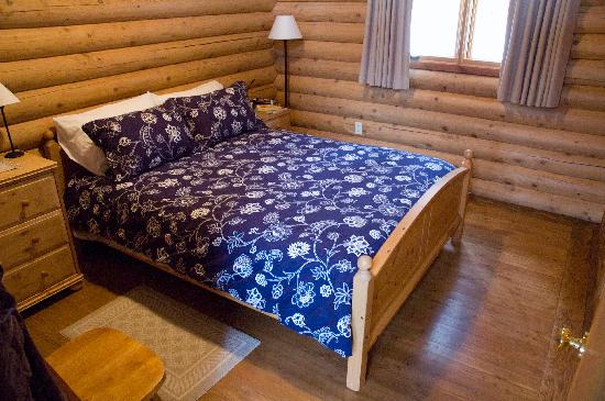 Birch Meadows Lodge B&B: Chalet - Bedroom