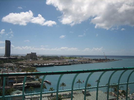 Aloha Tower Marketplace 上から見た景色