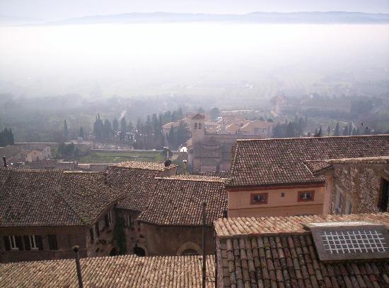 โฮเต็ล เบลเวเดีย: vista dalla terrazza all'ultimo piano