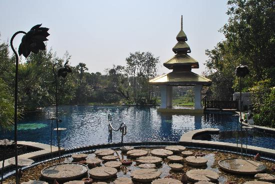 The Dhara Dhevi Chiang Mai: Pool view II