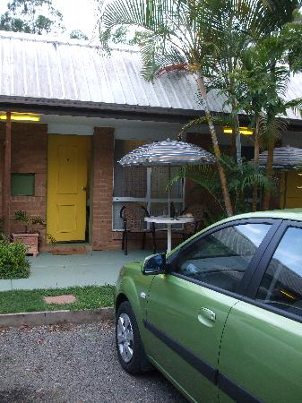 Beerwah Motor Lodge: The small rooms