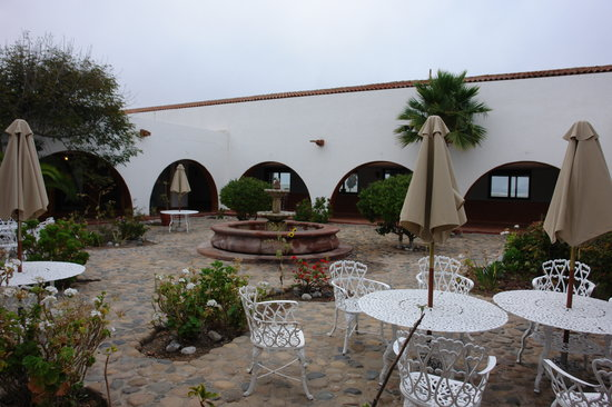 Desert Inn San Quintin - patio
