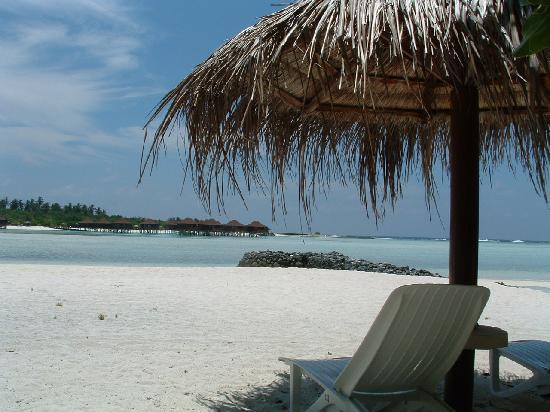 Anantara Dhigu MaldivesResort: vue sur le lagon