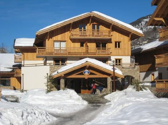 Lagrange Prestige Le Hameau du Rocher Blanc: L'entrée de la résidence