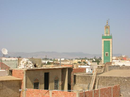 Mequinez, Marruecos: View from Ryad Bahia